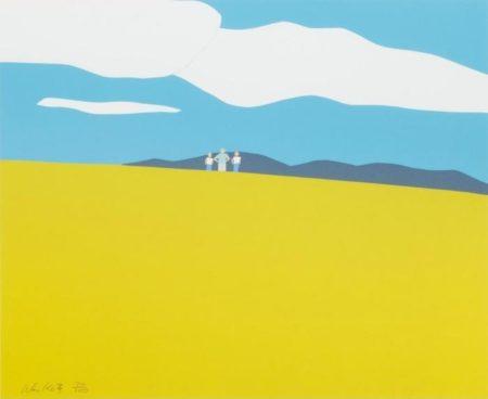 Alex Katz-Blueberry Field (Schroder 17)-1968