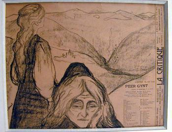 Edvard Munch-Peer Gynt-1896