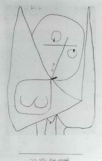 Paul Klee-Engel, Noch Weiblich-1939