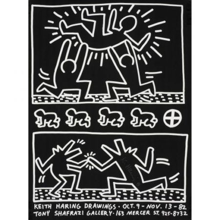 Keith Haring-Keith Haring - Keith Haring Drawings poster-1982