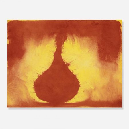 Anish Kapoor-Red Form / 12 Etchings / Twelve Etchings / Untitled 06-2007