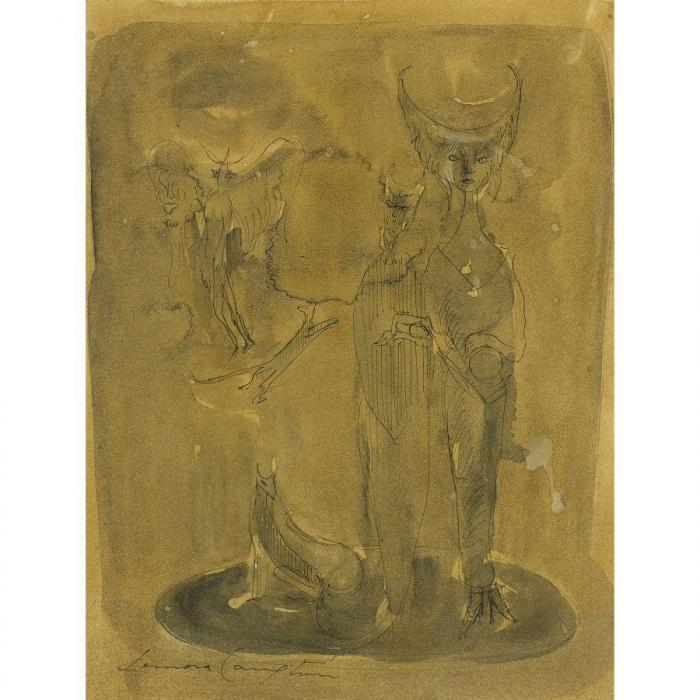 Leonora Carrington-Veiled Figures-