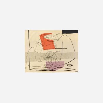 Le Corbusier-Les mains-1951