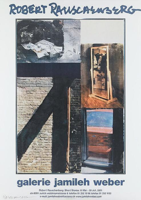 Robert Rauschenberg-Robert Rauschenberg - Robert Rauschenberg: Short Stories 12. Mai-28. Juli 2001-2001