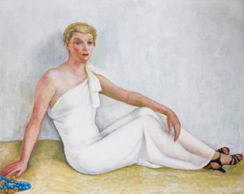 Diego Rivera-Portrait de femme-1938
