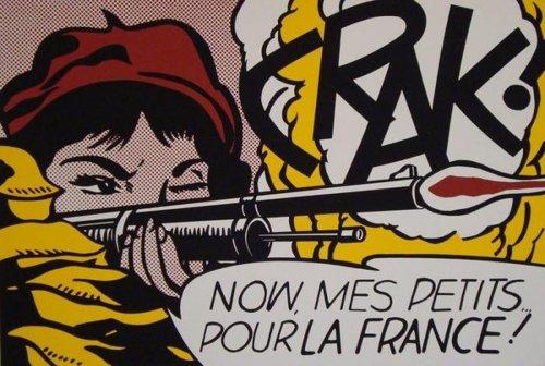 Roy Lichtenstein-Crak!; M-Maybe-