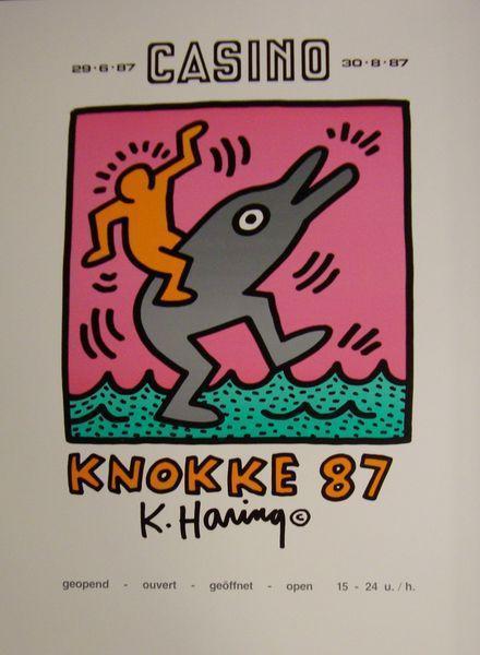 Keith Haring-Keith Haring - Exposition au Casino de Knokke-1987