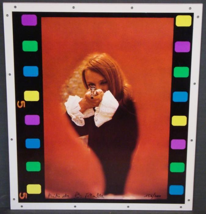 Niki de Saint Phalle-Tir a la carabine, (Aus: The New Realists)-1973