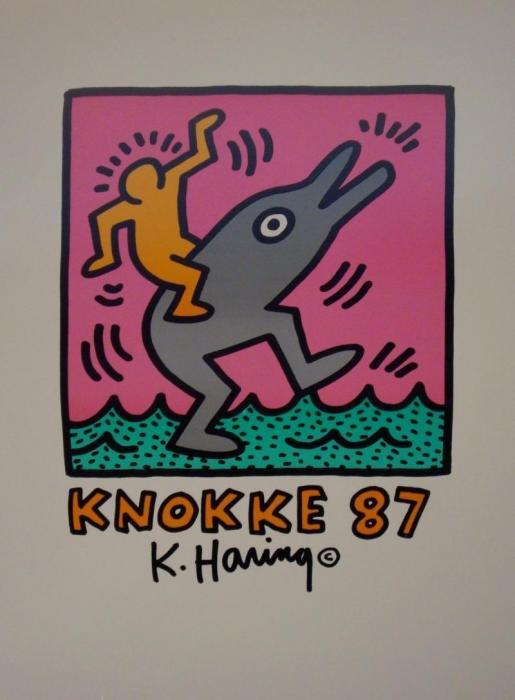 Keith Haring-Keith Haring - Affiche avant la lettre-1987