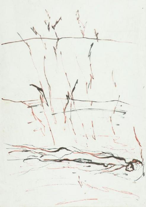 Cy Twombly-Senza Titolo-