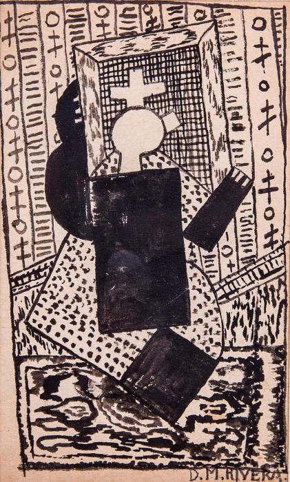 Diego Rivera-Personnage-1916