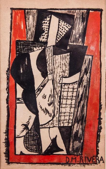 Diego Rivera-Composition-1916