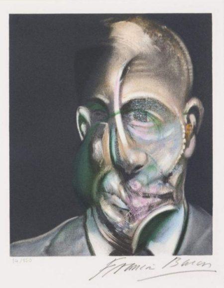 Francis Bacon-Portrait of Michel Leiris-1976
