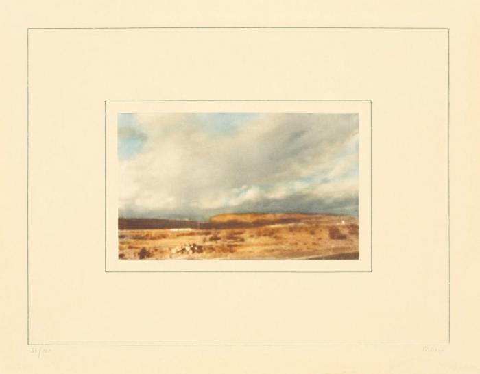 Gerhard Richter-Kanarische Landschaft I-b (Canary Landscape I-b)-1971