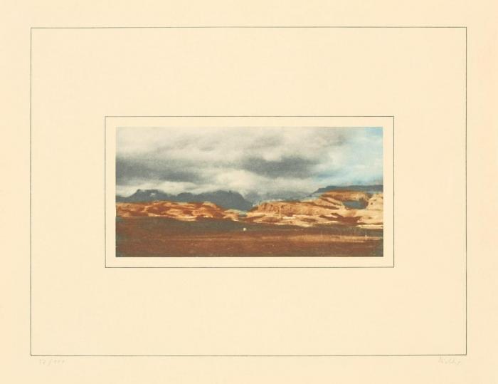 Gerhard Richter-Kanarische Landschaft I-c (Canary Landscape I-c)-1971