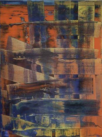 Gerhard Richter-Abstraktes Bild 761-1 (Abstract Painting 761-1)-1992