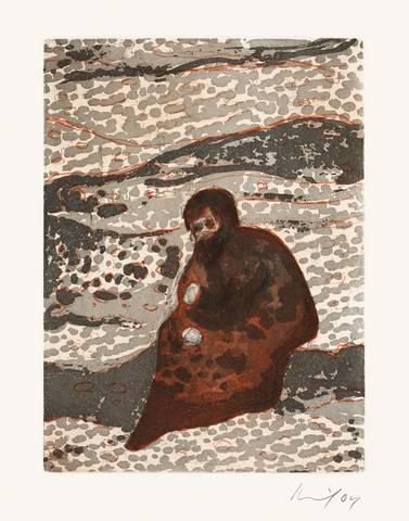Peter Doig-Figure by a River / Man by a River-2004