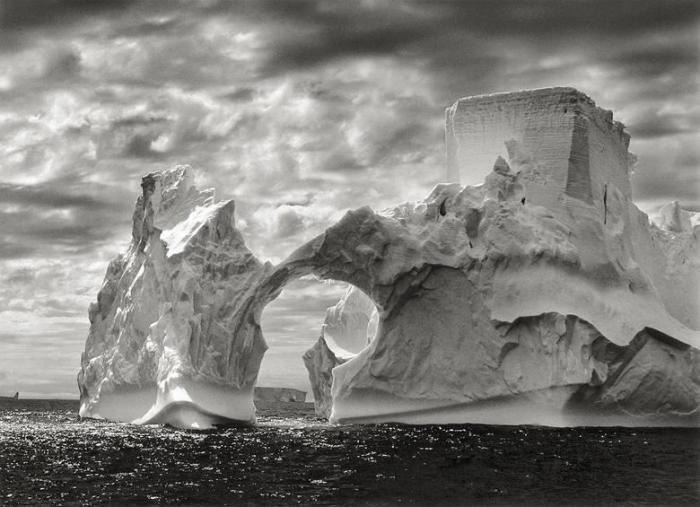 Sebastiao Salgado-Antarctica (Iceberg Between Paulet and Shetland Islands) / Castle, Antarctica-2005