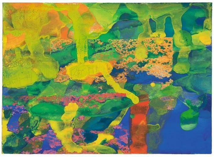 Gerhard Richter-Ohne Titel (29.5.84) / Untitled (29.5.84)-1984