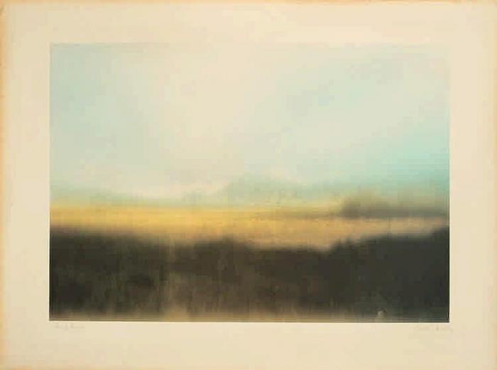 Gerhard Richter-Teyde-Landschaft (Teide Landscape)-1971