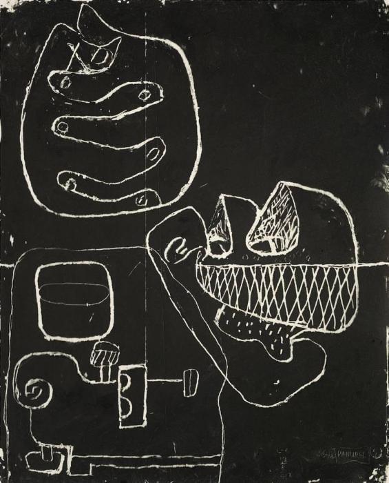 Le Corbusier-Coquillage Et Mains, Verre Et Musique-1961