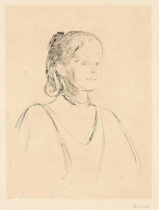 Edvard Munch-Ingeborg Heiberg-1895