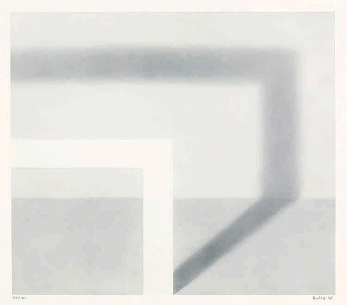 Gerhard Richter-Schattenbild II (Shadow Picture II)-1968