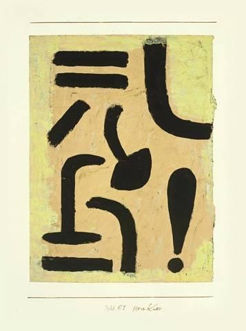 Paul Klee-Merkblatt-1938