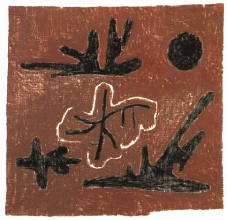Paul Klee-Letzte Blatter (Last Leaves)-1934