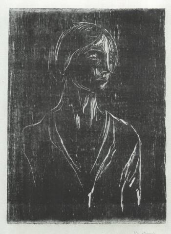Edvard Munch-Birgitte-1930