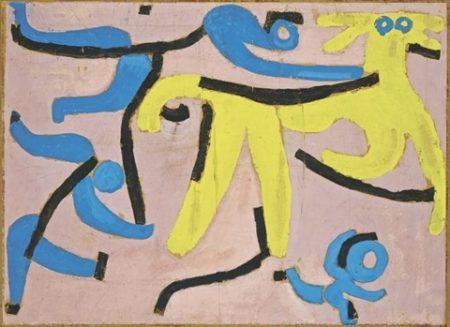Paul Klee-Der Gelbe Esel (The Yellow Donkey)-1939