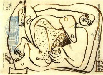Le Corbusier-Liegende Frau-1960