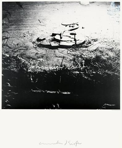 Anselm Kiefer-Johannis-Nacht (Midsummer Night)-1990