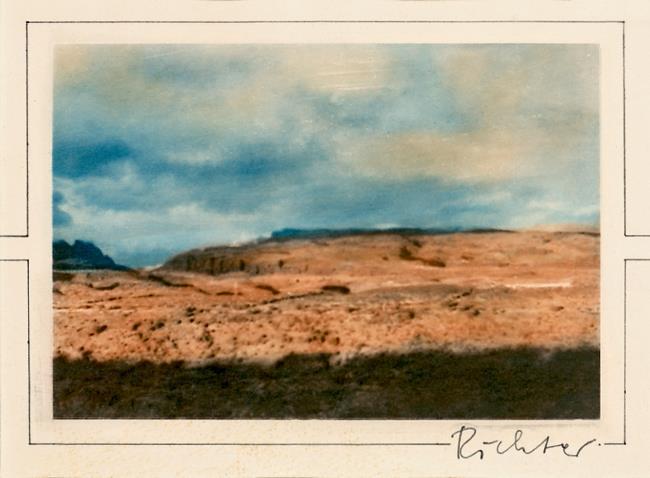 Gerhard Richter-Ohne Titel (Untitled) / Kanarische Landschaften (Canary Landscapes)-1971