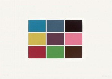 Gerhard Richter-9 Von 180 Farben (9 From 180 Colours)-1971