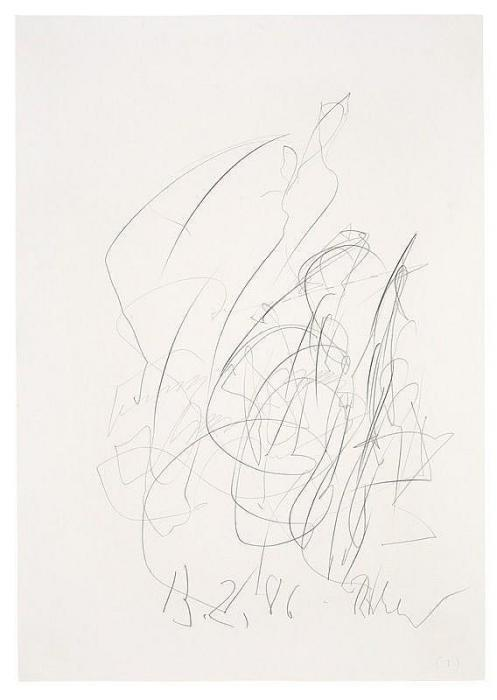 Gerhard Richter-Ohne Titel (13.2.86) / Untitled (13.2.86)-1986