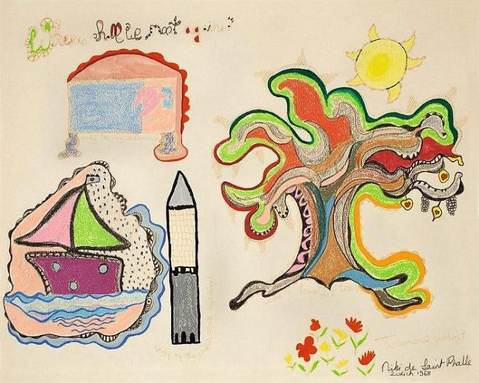 Niki de Saint Phalle-When Shall We Meet Again-1968
