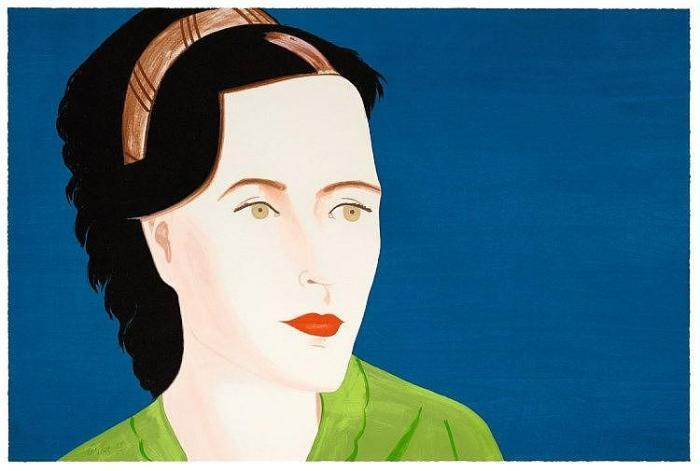 Alex Katz-Sharon-2010