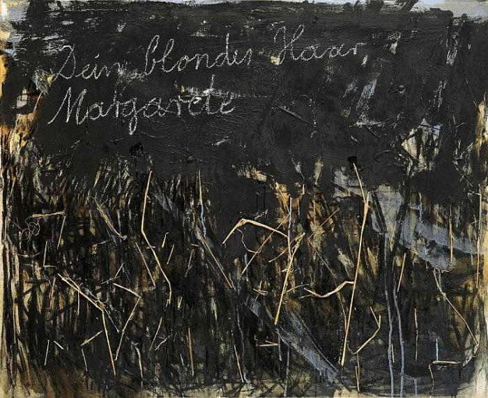 Anselm Kiefer-Dein Blondes Haar, Margarete (Your Blond Hair, Margarete)-1981