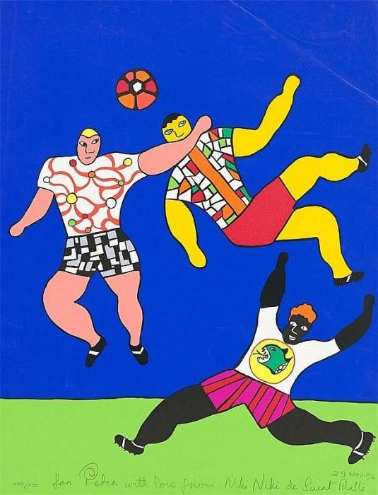 Niki de Saint Phalle-Football-1992