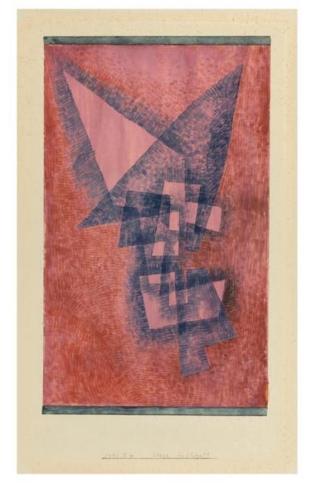 Paul Klee-Starr-Beflugelt-1931