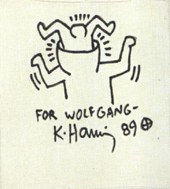 Keith Haring-Keith Haring - Head birth-1989
