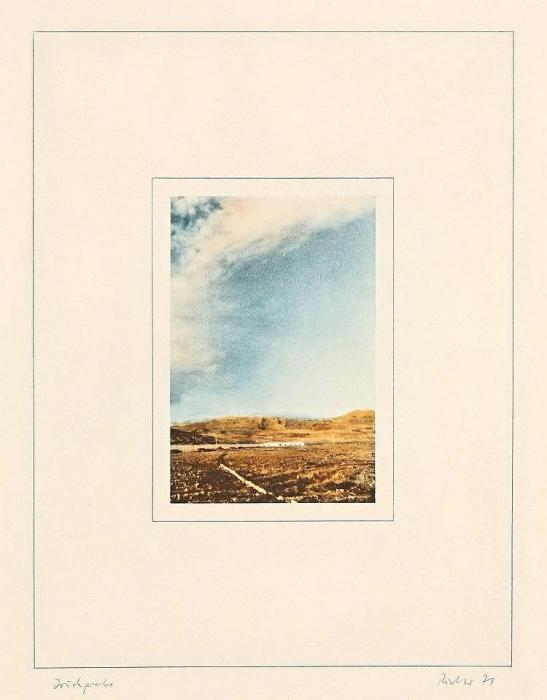Gerhard Richter-Landschaft I (Landscape I)-1971