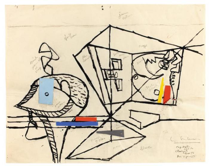 Le Corbusier-Julot-1955