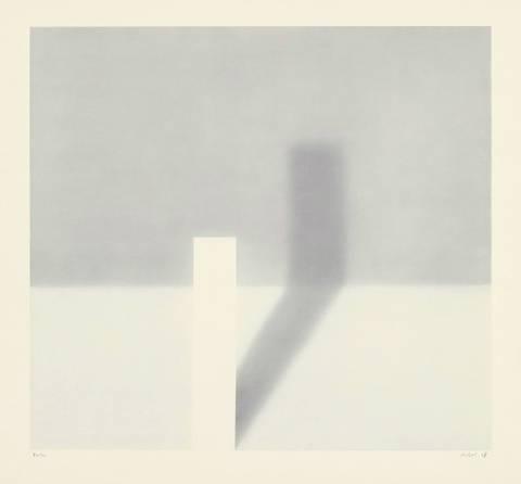 Gerhard Richter-Schattenbild I (Shadow Picture I)-1968