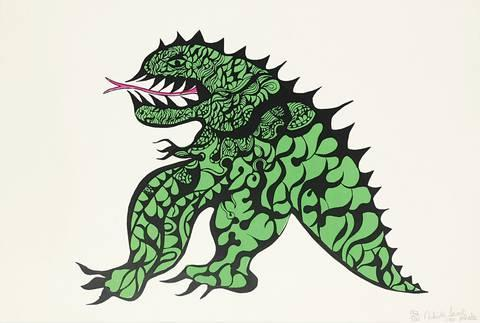 Niki de Saint Phalle-Tu es mon Dragon-1968