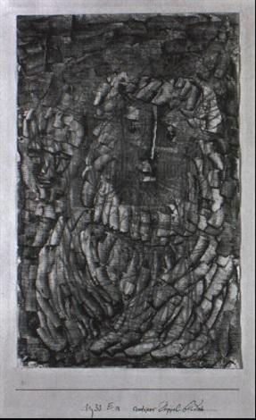 Paul Klee-Antikes Doppelbildnis (Antique Double Portrait)-1933