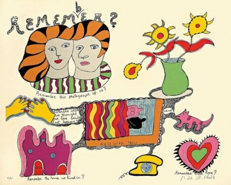 Niki de Saint Phalle-Remember, (Nana Power, remember)-1970
