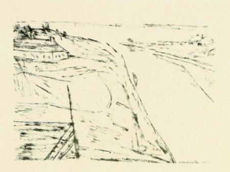 Paul Klee-Blick auf einen Fluss (View Of River)-1912