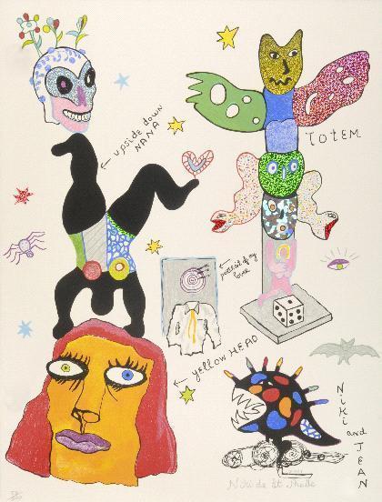 Niki de Saint Phalle-Sans titre-2001